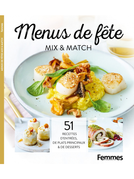 Bookzine 'Menus de fête - mix & match'